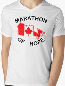 Marathon of Hope, 1980 Mens V-Neck T-Shirt