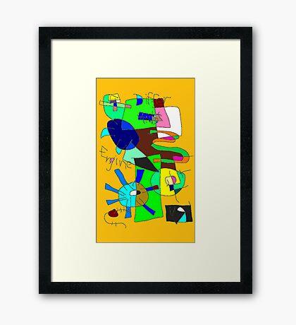 """Differ Ants Engine"" by Richard F. Yates Framed Print"