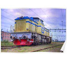 Locomotives of Värnamo I Poster