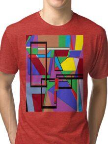 Geometry - Shape on Shape Tri-blend T-Shirt