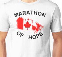 Marathon of Hope, 1980 v2 Unisex T-Shirt