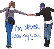 I'm never leaving you. by p0isonedy0uth
