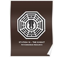 Station 10 - The Knight Poster
