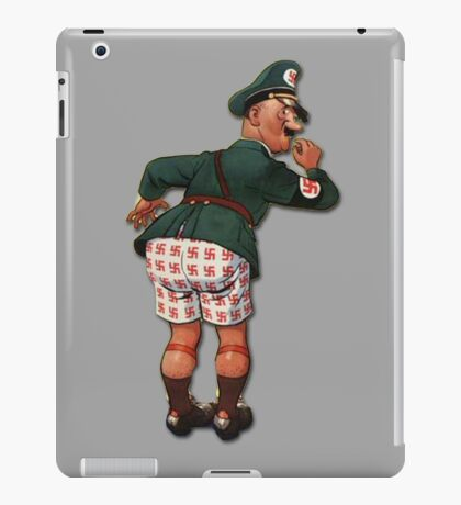 "Caught With His ""Panzers"" Down... iPad Case/Skin"