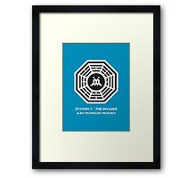 Station 7 - The Invader Framed Print