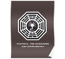 Station 8 - The Facehugger Poster
