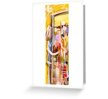 Into the city Greeting Card