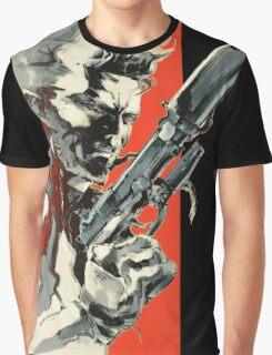 Metal Gear Solid 2: Sons of Liberty - Yoji Shinkawa Artbook (Scan) Graphic T-Shirt