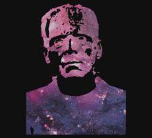 Galaxy Boris Karloff Frankenstein Kids Tee