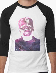 Galaxy Boris Karloff Frankenstein Men's Baseball ¾ T-Shirt
