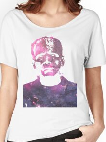 Galaxy Boris Karloff Frankenstein Women's Relaxed Fit T-Shirt