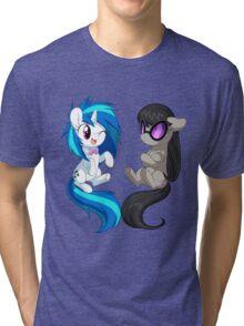 MLP - Vinyl & Octavia Tri-blend T-Shirt