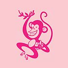 Pink Monkey by drawgood