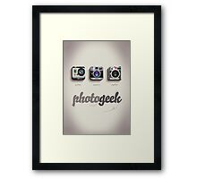 Photogeek Framed Print