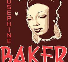 Vector art Josephine Baker by aapshop