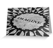 Imagine Greeting Card