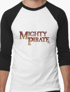 Mighty Pirate Men's Baseball ¾ T-Shirt
