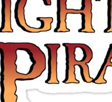 Mighty Pirate Sticker