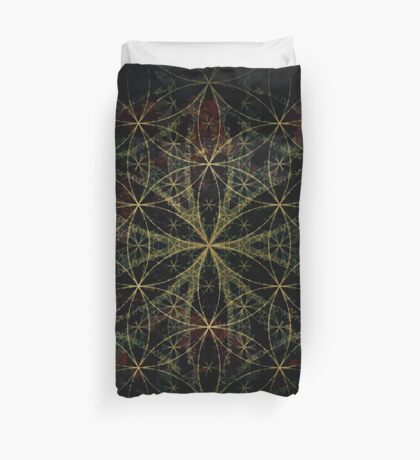 SACRED FLOWER OF LIFE Duvet Cover