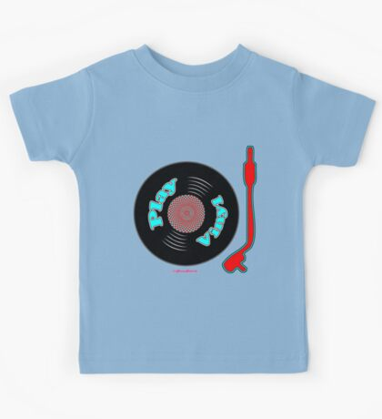 Play Vinyl T-Shirt Kids Tee