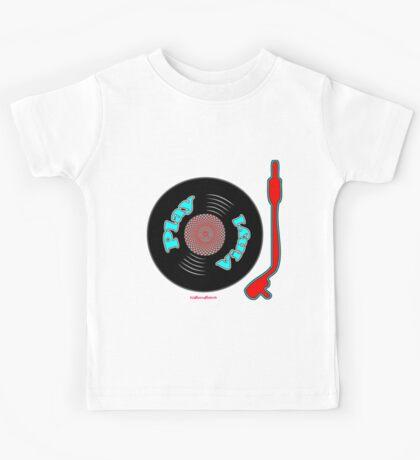 Play Vinyl T-Shirt Kids Tee