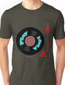 Play Vinyl T-Shirt Unisex T-Shirt