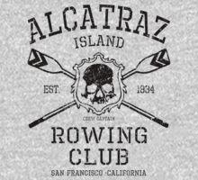 Alcatraz Rowing Club by GUS3141592