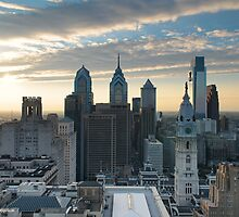 Philadelphia Skyline by PHLBike
