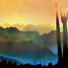 Arizona Horizons by Barbara D Richards