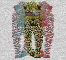 Leopardz-3D T-Shirt