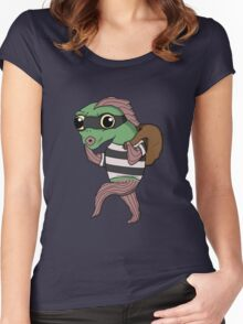 Fish Thief Women's Fitted Scoop T-Shirt