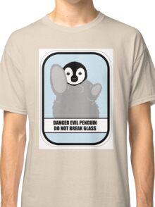 Danger Evil Penguin Classic T-Shirt
