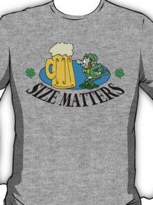 """Very Funny Irish """"Size Matters"""" T-Shirt"""