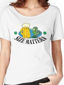 "Very Funny Irish ""Size Matters"" Women's Relaxed Fit T-Shirt"