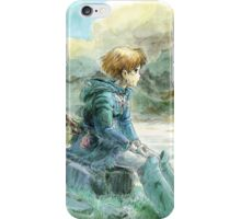 Nausicaa of the Valley of the Wind - Hayao Miyazaki - Pre Studio Ghibli (HD) iPhone Case/Skin