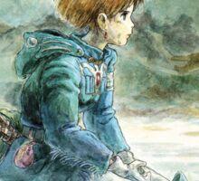 Nausicaa of the Valley of the Wind - Hayao Miyazaki - Pre Studio Ghibli (HD) Sticker