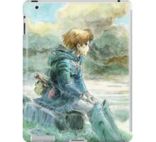 Nausicaa of the Valley of the Wind - Hayao Miyazaki - Pre Studio Ghibli (HD) iPad Case/Skin