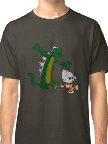 Jet and Godzilla Classic T-Shirt