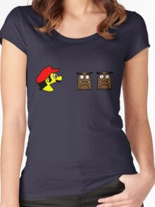 Bros.-Man (b) Women's Fitted Scoop T-Shirt