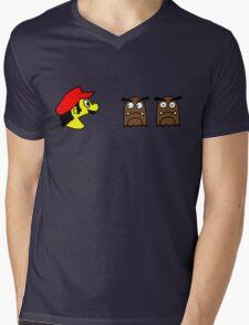 Bros.-Man (b) Mens V-Neck T-Shirt