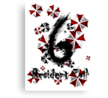 Resident Evil 6 Canvas Print