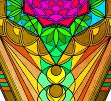 Sacred Geometry for your daily life Sticker