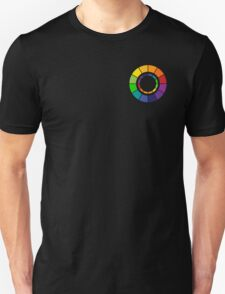 Color wheel (zip-up friendly) Unisex T-Shirt