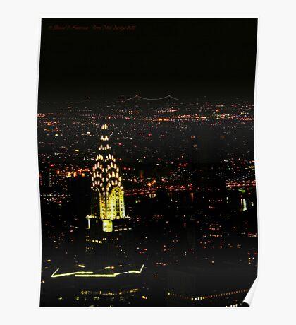 Chrysler Building (New York City, USA) Poster
