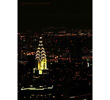 Chrysler Building (New York City, USA) Photographic Print
