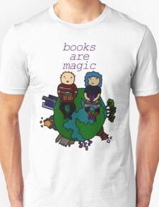 Books are magic! Unisex T-Shirt