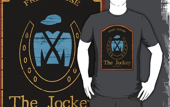 The Jockey  Always Shameless by Jim Tee