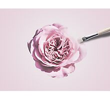 Rose Painting Photographic Print