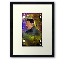 The turn of the universe - version 1 Framed Print