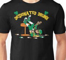 """St Patrick's Day """"Designated Drunk"""" Dark Unisex T-Shirt"""